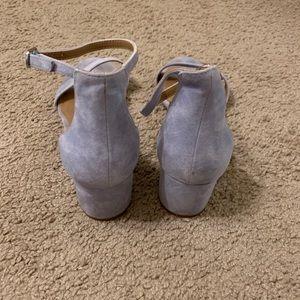 Steve Madden Shoes - Steve Madden Blue Suede Heels
